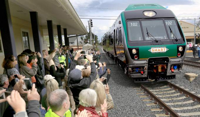 SMART train braces for sales tax revenue drop after Sonoma County fires