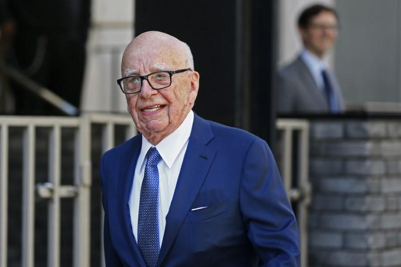 Murdoch bets live sports and news will boost new, smaller Fox