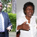 Supporters of Kitui Governor Charity Ngilu, Julius Malombe clash outside court