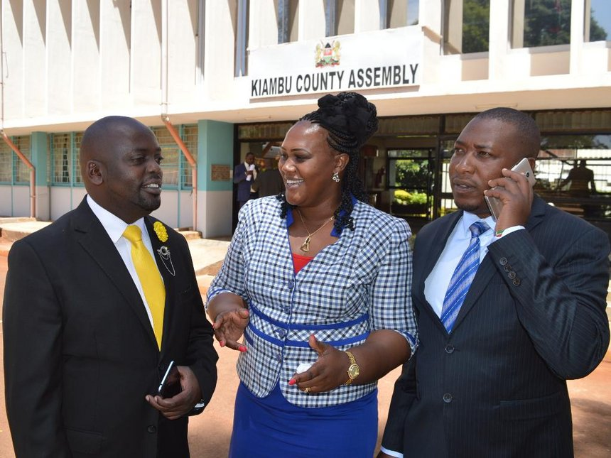 Kiambu MCAs pass motion compelling firms, institutions to hire 70 per cent locals