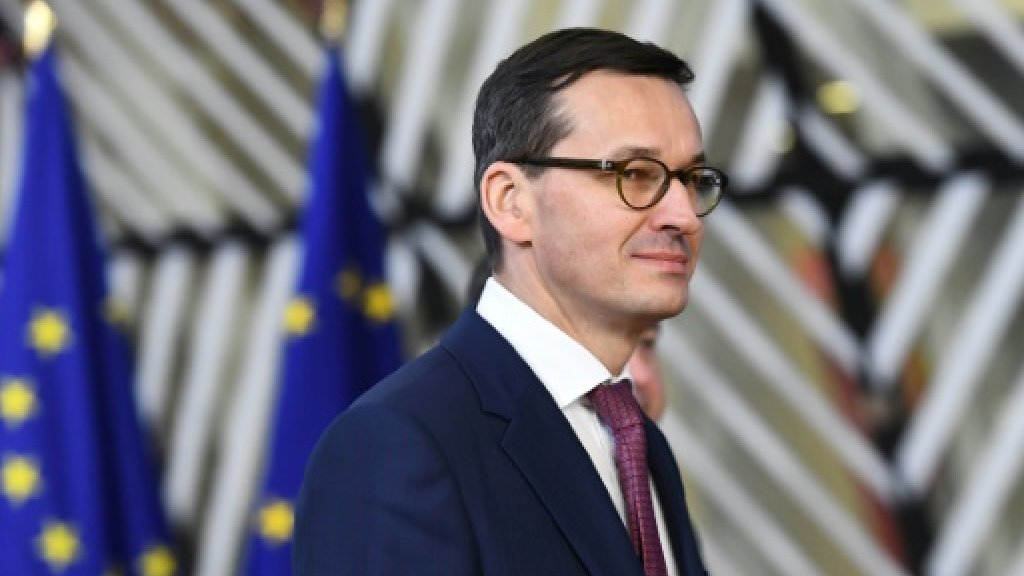 Polish PM expects EU to impose rare punishment over rule of law