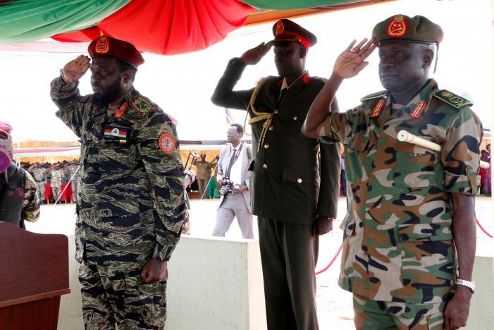 Kiir makes changes in SPLA top leadership