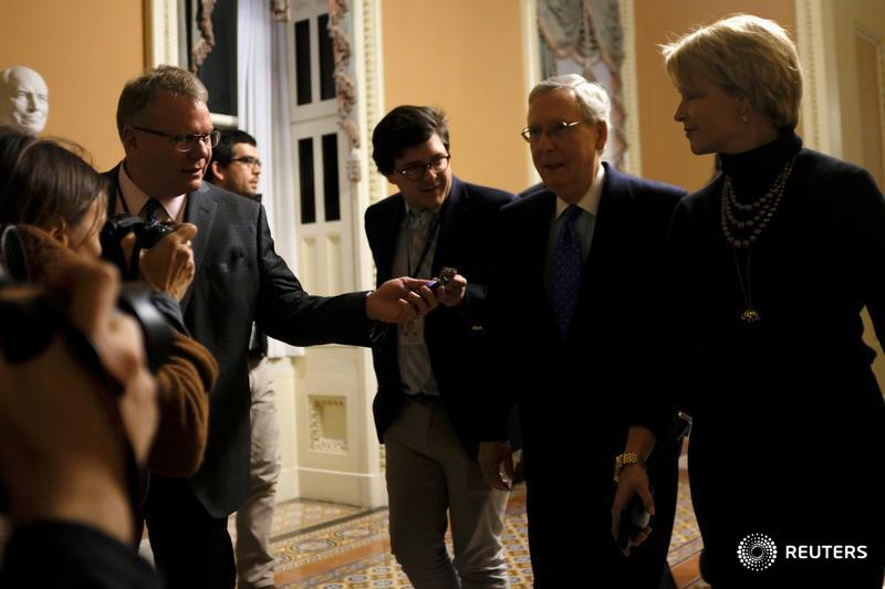 As Republican tax vote nears, more senators waver https://t.co/v0lSHIJOj2 https://t.co/6PMrbiZTOK