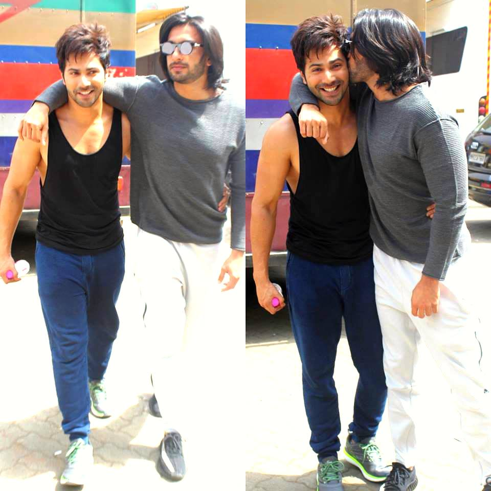 Too much hotness in one frame! �� Pick your favorite!  @Varun_dvn or @RanveerOfficial https://t.co/EISyPZmlsX