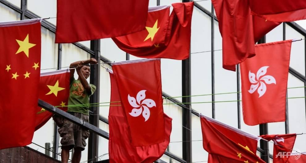 Three men jailed over Hong Kong explosives plot