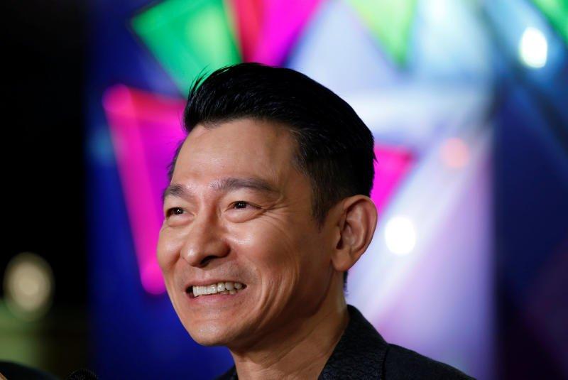 Andy Lau awarded honorary degree by Hong Kong university