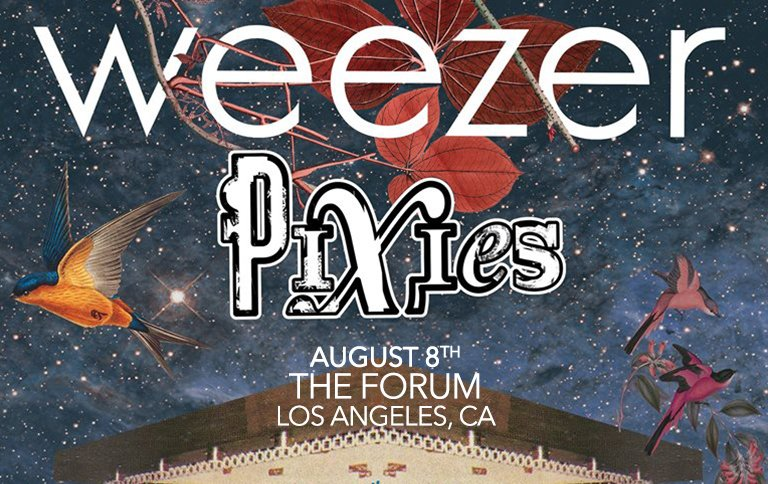 NEW SHOW ADDED IN LA… @TheForum on August 8th with @Weezer. Tickets are on-sale now at: https://t.co/hKS6Cql6yx https://t.co/cN4JRty40G