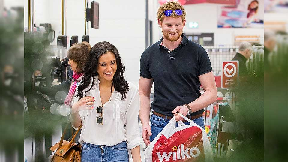 OMG! Prince Harry and Meghan Markle have been Christmas shopping in Wilkos - or have they?