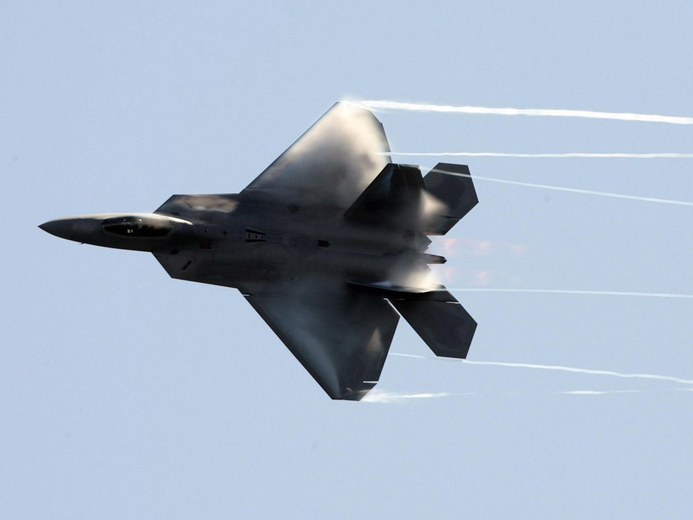American F-22s fired warning flares at Russian planes in close call over Syria: Pentagon