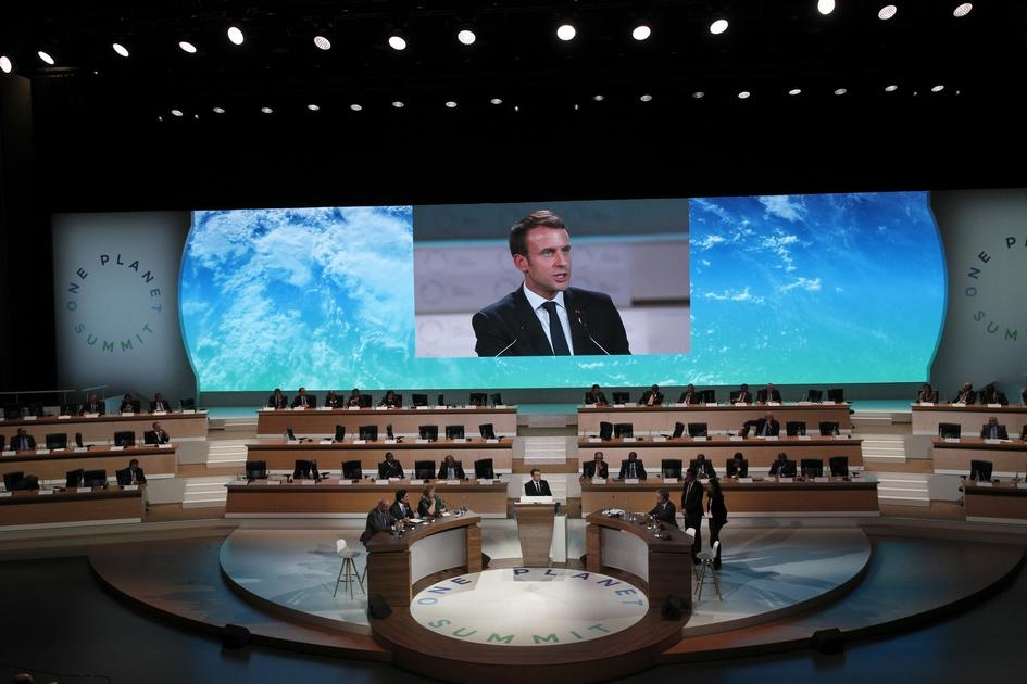 Paris hosts major climate summit — and it's all about Trump
