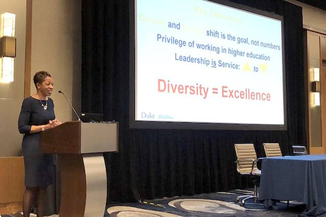 Dean Valerie Ashby on putting #inclusion center stage in #highereducation. https://t.co/vbaonttQ8e https://t.co/cMAMrMfIux