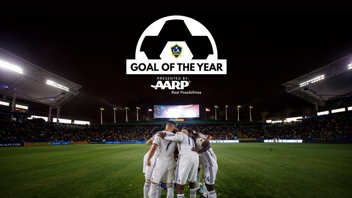 11 nominees. 1 winner.  Vote for #LAGalaxy Goal of the Year, presented by @AARPCA: https://t.co/LhyqiwP1dq https://t.co/phMZVY9bG4