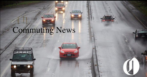 Portland Metro Friday Traffic: Possible spotty light freezing rain for the morning commute