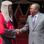Be careful not to make controversial decisions - Uhuru tells judges as he meets Maraga
