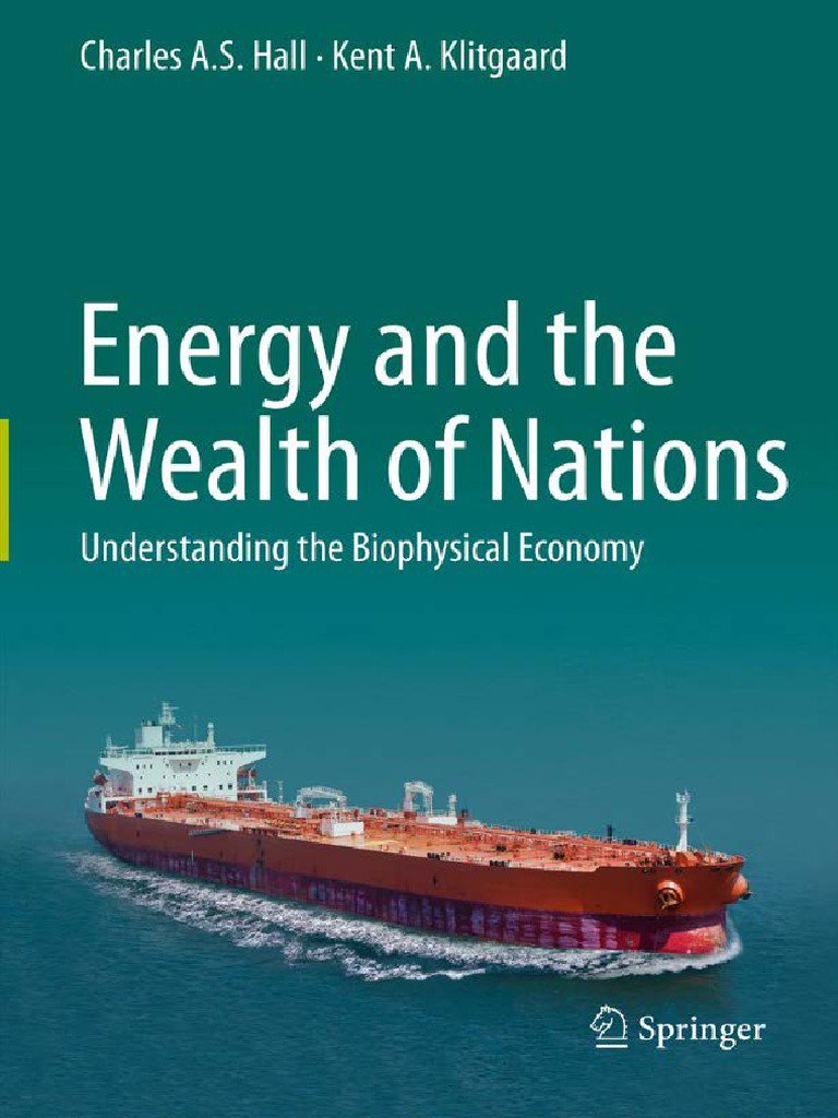 test Twitter Media - @gianlucatdc @BrankoMilan @ClubOfRome About this topic of energy and its relation with civilizations I strongly recommend the books of Charles A.S. Hall. He was the creator of the EROI (Energy Return on Investment) concept which is often used to study the profitability of an energy source.  #Peakoil  #Physiocracy https://t.co/Jhh0UknmuR