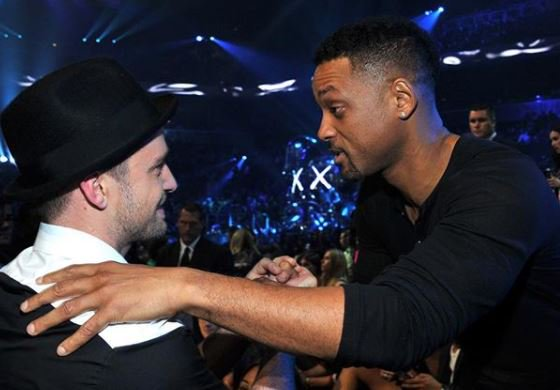 Justin Timberlake and Will Smith...The friends we never knew Instagram needed.