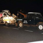 Man who lost nine relatives in Webuye accident melts hearts with this Facebook post