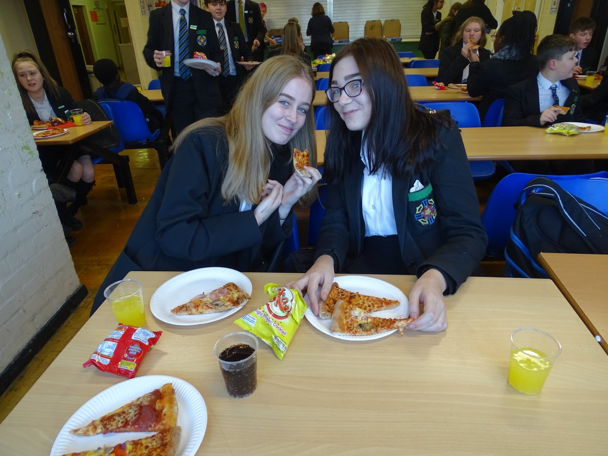 test Twitter Media - Well done to Miss Ogden's Form, 4G for having the best attendance this term!  They celebrated with a Pizza Party in the canteen!  Keep up the good work. #bestattendance https://t.co/4hit7Hh7ON