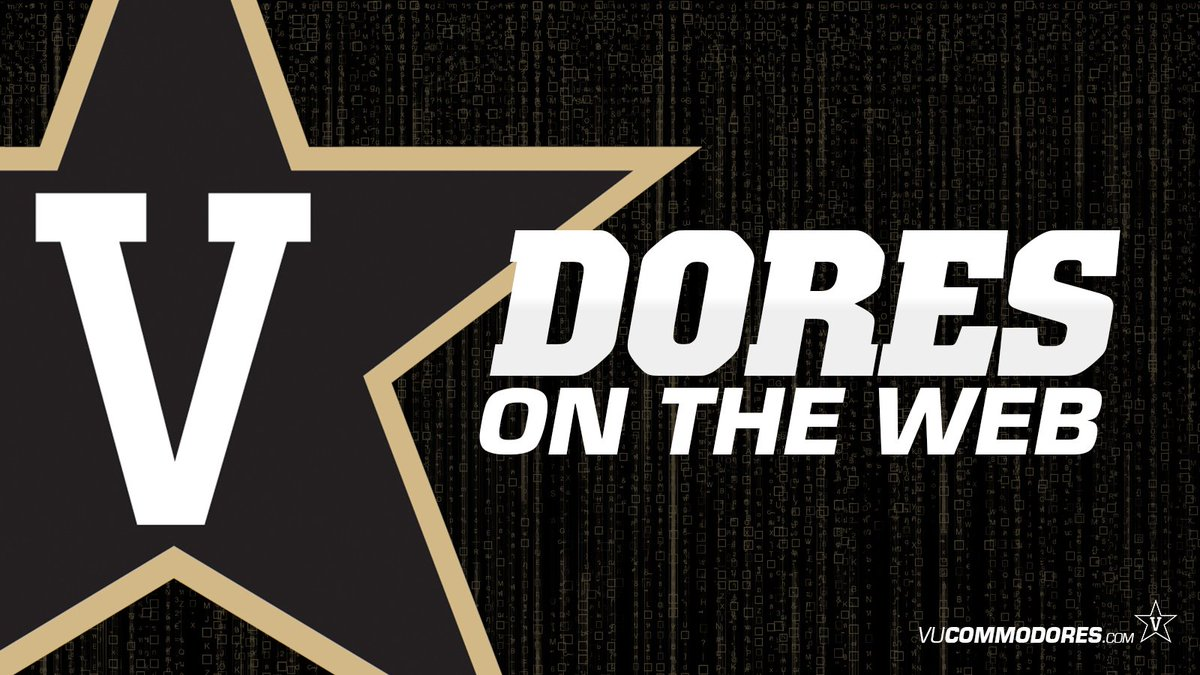 Big honors for @Vandywtennis, @Vandysocr and more in this week's Dores on the Web:  https://t.co/EFDcgNxlSv https://t.co/tgSbGF26AS
