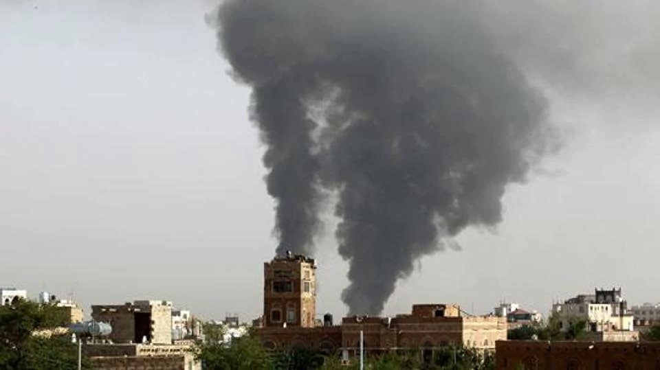 Saudi led coalition air strikes kill 28 in Yemen