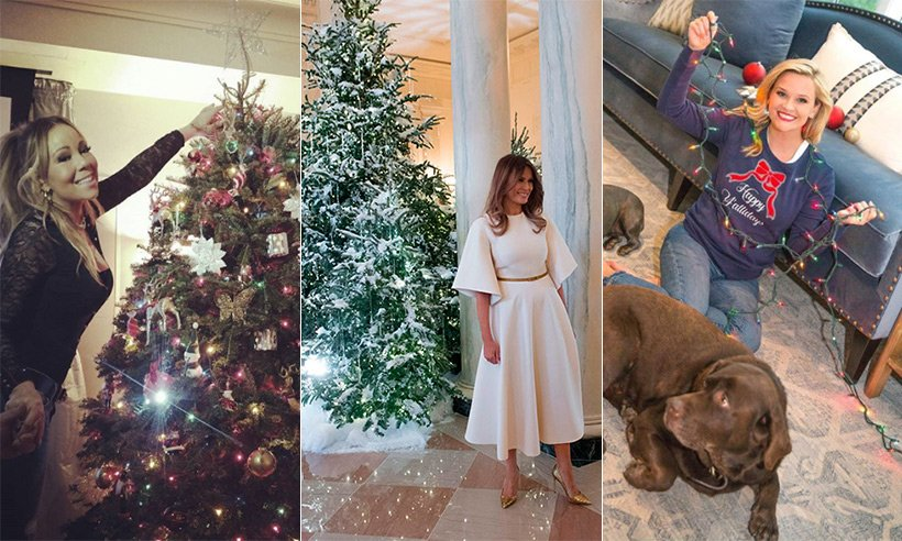 See the best celebrity Christmas decorations - including @KrisJenner's amazing trees!