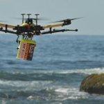 Prueban sistema de drones para detectar tiburones...