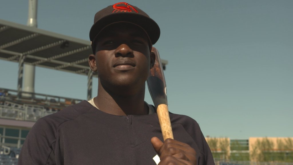 At just 20 years old, Estevan Florial was one of the youngest players invited to the 2017 AFL and he held his own with a .286 AVG in 19 games.   @YankeesonDemand catches up with the super-talented prospect here! 👉 https://t.co/hCfk78ulLx https://t.co/NbF3qgqOtG
