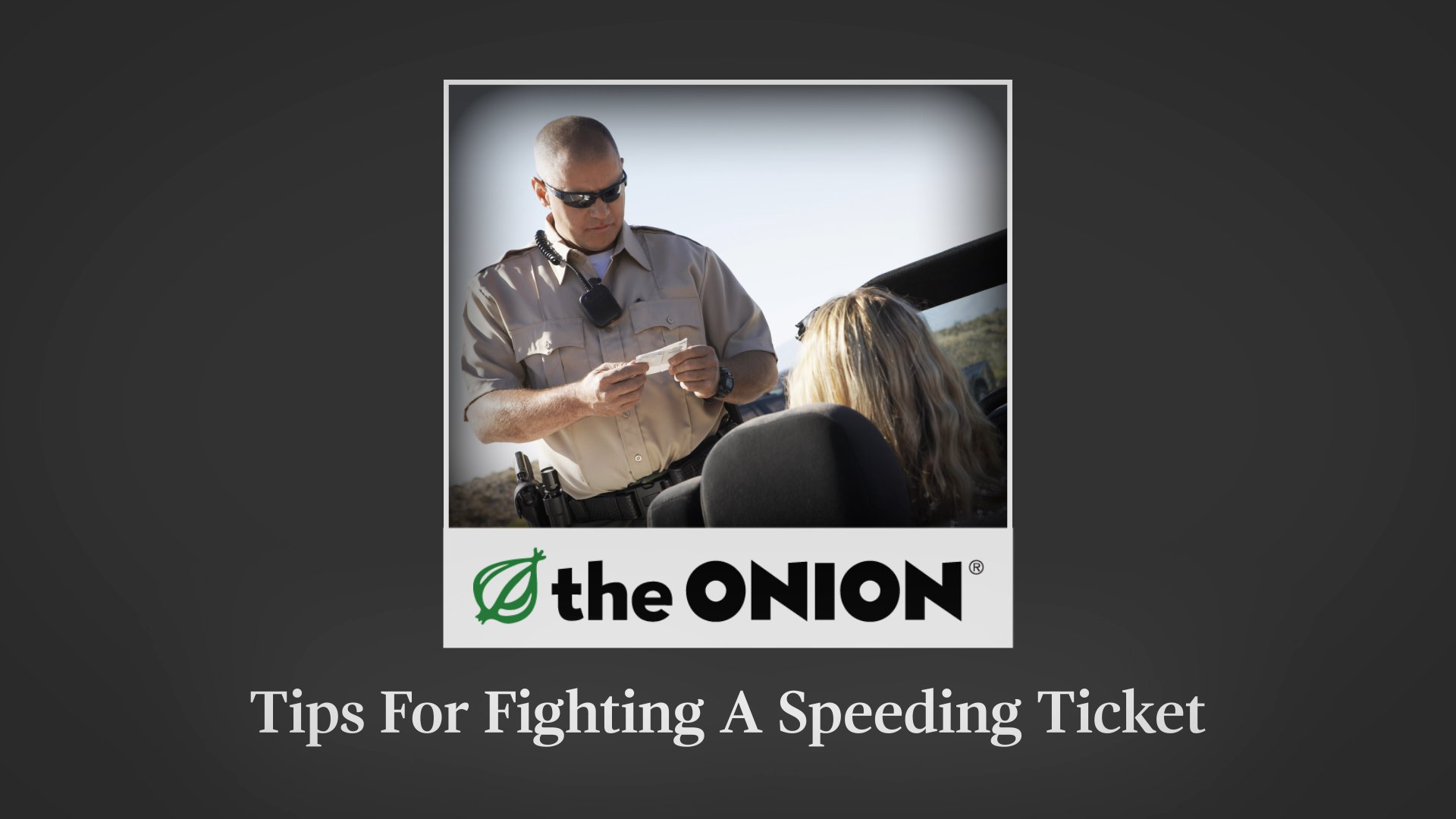Tips For Fighting A Speeding Ticket https://t.co/jkChCySACS
