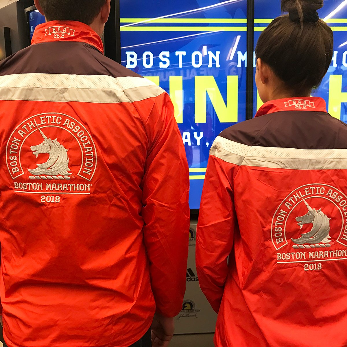 Here are the 2018 Boston Marathon jackets