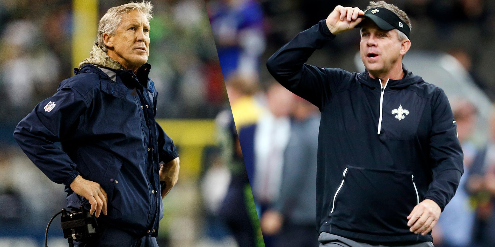 Sean Payton, Pete Carroll among coaches fined: https://t.co/E3IY3pqrd6 (via @TomPelissero) https://t.co/VgYVV2GLoV