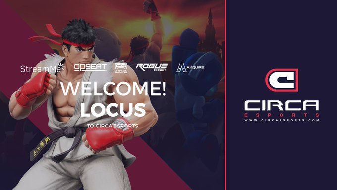 We are pleased to welcome @LocusSK to the Circa eSports fighting game division!  Welcome to the family! #WeAreCirca https://t.co/WIDxzDTqPF