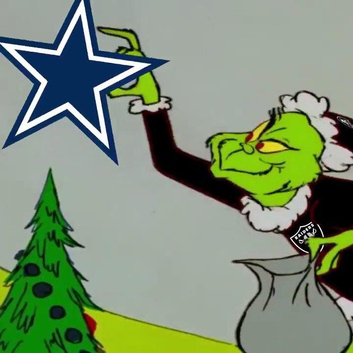 RT @SNFonNBC: The @Raiders have one goal on Sunday Night: ruin Christmas for Cowboys fans everywhere. #RaiderNation https://t.co/949wEoUGIw
