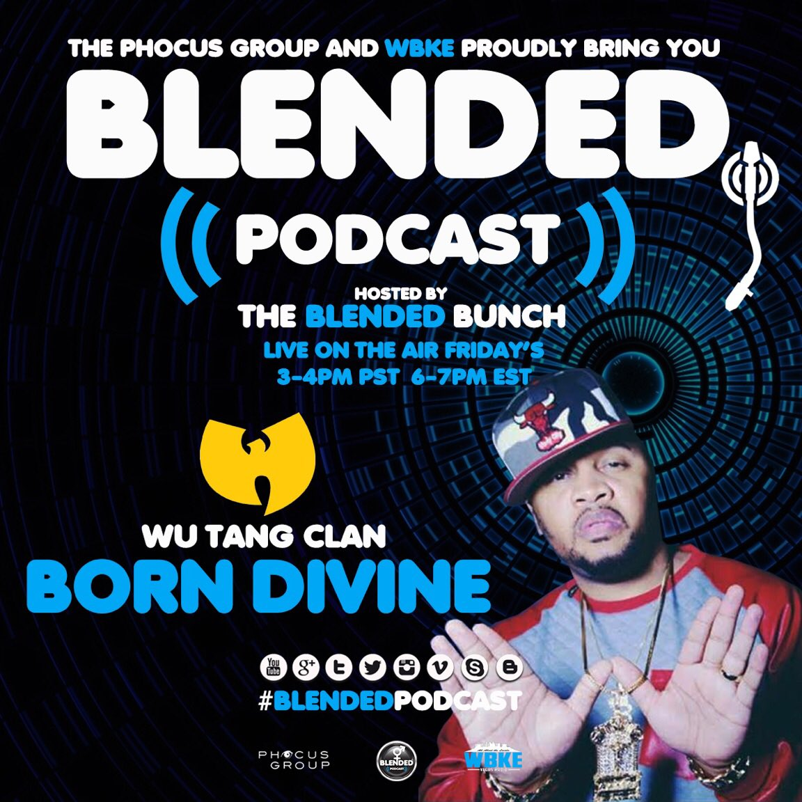You don't wanna miss this today!!! #GetBlended #WuTang #TheBlendedBunch #InariVachs