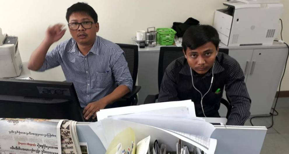 US top diplomat calls for release of two reporters arrested in Myanmar