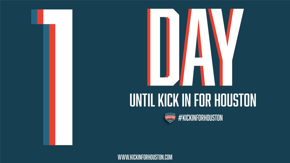 """""""In the most dire circumstances, Houstonians used whatever resources they had to help each other, and now it's my turn."""" - @stuholden   #KickInForHouston kicks off tomorrow: https://t.co/vsDF0rbdHW (📷: @stuholden) https://t.co/JFHRjRLYIs"""