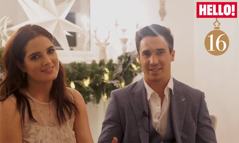 .@BinkyFelstead and Josh Patterson on their first Christmas with baby India: