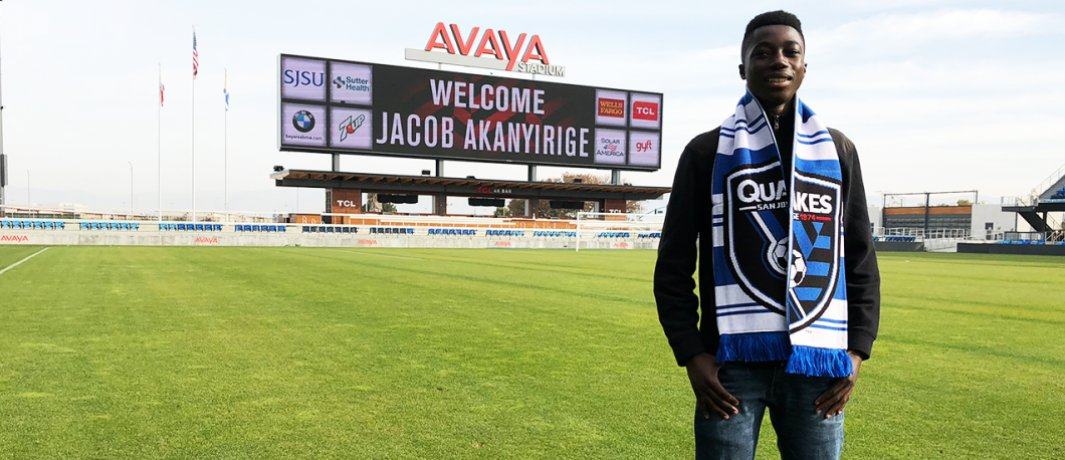 .@SJEarthquakes sign 15-year-old Jacob Akanyirige to a Homegrown Player contract 📝: https://t.co/tNR1VeEJai https://t.co/6WP2L2CjNs