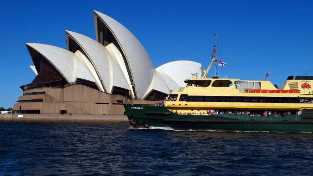 Ferry crashes into yacht in Sydney Harbour
