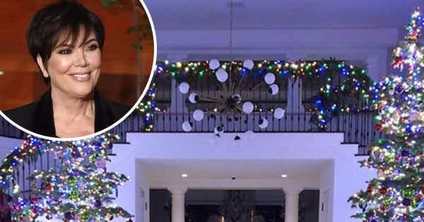 Kris Jenner's Christmas decorations are living up to expectations this year: