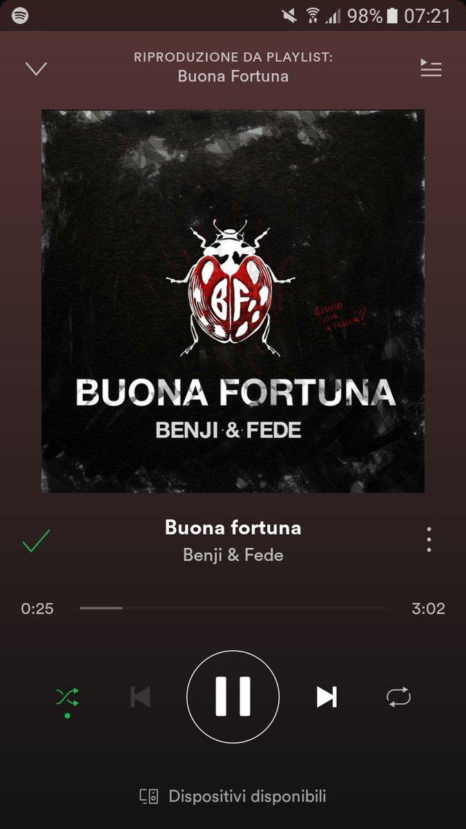 #BuonaFortuna