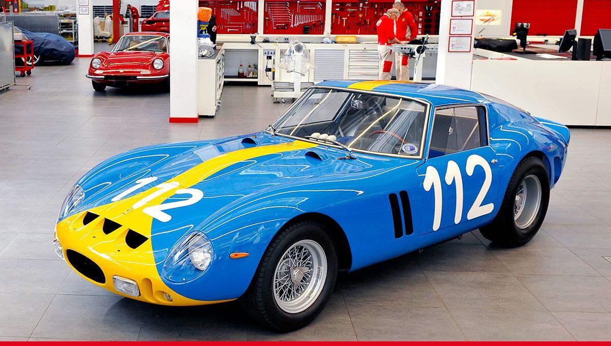 It's in #Maranello that all the magic happens. #Ferrari #FerrariClassiche https://t.co/j2Ty7ezgzC