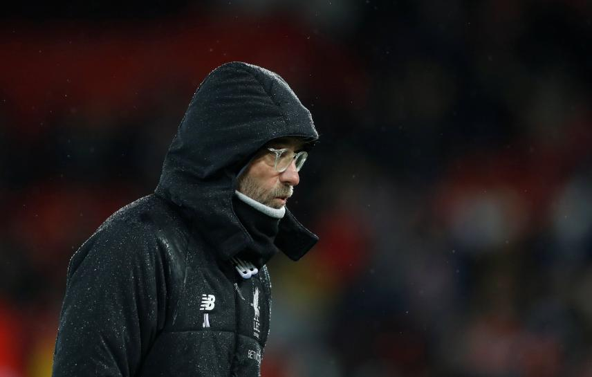 Liverpool boss Klopp tips City for title, aims to be 'best of the rest'
