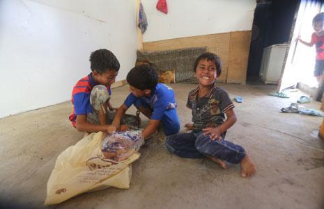 76% من الأسر النازحة تحت خط الفقر!