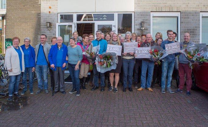 Kringloopwinkel Habbekrats doneert voor 4 goede doelen https://t.co/IzHf38SdZ2 https://t.co/kbC0wJwdW1