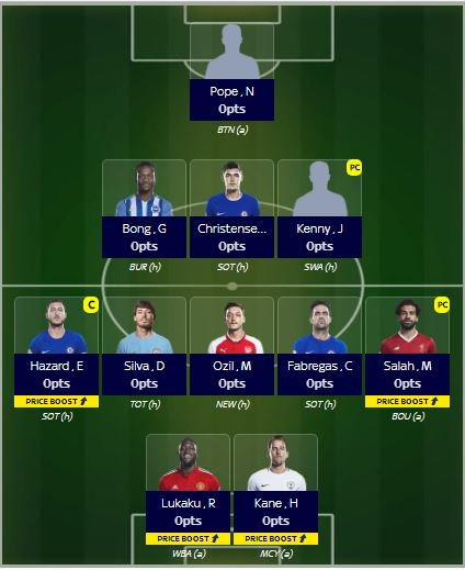 test Twitter Media - Sky Sports fantasy football team @SkyFantasyFooty Injured Ramsey out pass bonus Ozil in Getting back from the OR rank abyss at 6,782 transfers used at 14 #fpl #skysportsfantasyfootball https://t.co/kglTDz8ezU