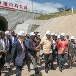 Uhuru happy with SGR progress after inspecting Em-Bulbul tunnel