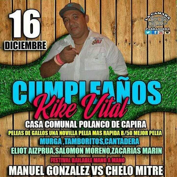 Hoy 16 de Diciembre #cumpleaños #lacamaraparrandera #panama#carteleratipica #capira https://t.co/YcYUIKoXy5 https://t.co/QoFJybx8B4