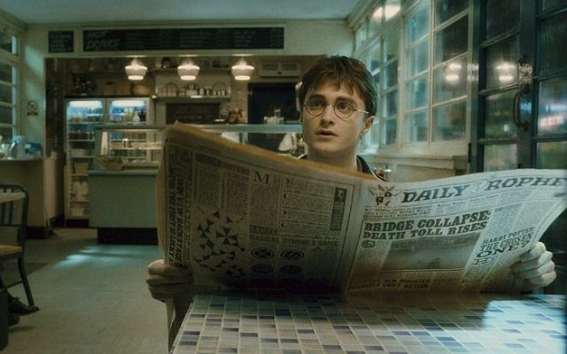This printer has made the moving newspaper images in Harry Potter real