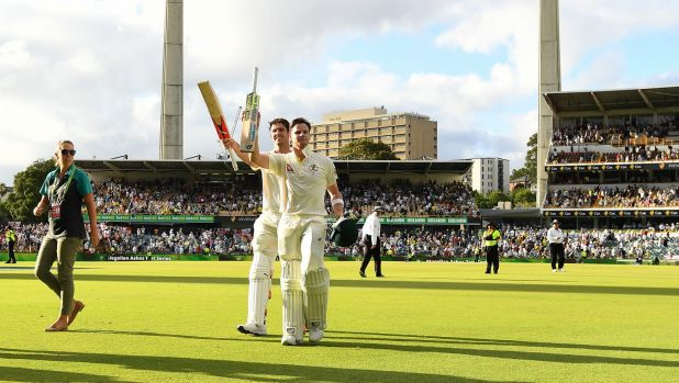 Ashes 2017/18: Urn within reach after centuries to Steve Smith and Mitchell Marsh