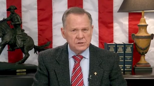 Moore looking into 'numerous reported cases of voter fraud' after Senate race loss